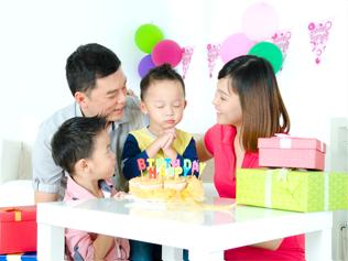 お誕生日などでのお祝いプレゼント